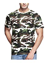 Clifton Mens Cotton T-Shirt (Aaa00013485 _off White _Xx-Large)