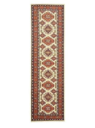Kalaty One-of-a-Kind Kazak Rug, Ivory, 2' 6