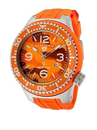 Swiss Legend Reloj Neptune Arancio