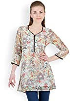 Ayaany Multi Color Printed Casual Kurti for women