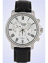 Enticer Bs122-Bem-506Bl-7Avdf Black/White Chronograph Watch Casio