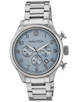 Nautica Chronograph Silver Dial Men's Watch  - NTA17647G