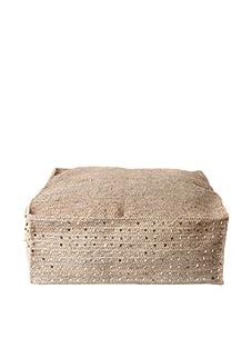 """Mar Y Sol Lola 26"""" x 26"""" Floor Cushion (Dove)"""