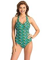 I Heart Halter One-Piece Swimsuit