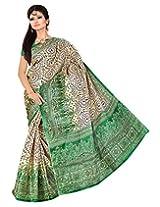 Somya Silk Saree (040Dn0121 _Green)