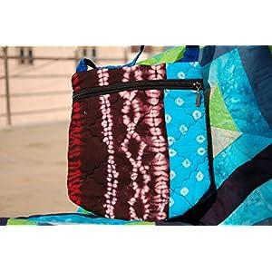 Reinvention Multicolour Bandhni Sling Bag