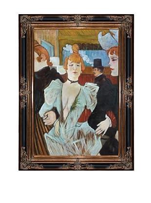 Toulouse Lautrec: La Goulue arriving at the Moulin Rouge, 1892