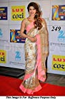 Bollywood Replica Priyanka Chopra Silk Georgette Saree In Silver and Pink Colour NC369