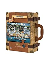 MasterPieces / Collector Suitcase 1000-piece Puzzle Portland