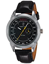 Optima Analog Black Dial Men's Watch - OFT-2431 BK
