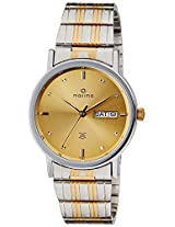 Maxima Analog Gold Dial Men's Watch - 26154CMGT