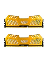 ADATA XPG V2 DDR3 2400MHz (PC3 19200) 8GB (4GBx2) Memory Modules, Gold (AX3U2400W4G11-DGV)