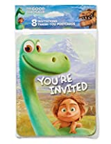American Greetings The Good Dinosaur Invite & Thank You Combo Pack (8 Count)
