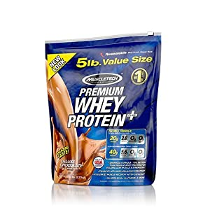Muscle Tech Premium Whey Protein Plus - 5.00 lbs(Deluxe Chocolate)