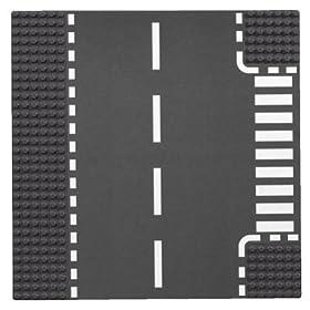 レゴの道路プレート