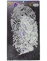 Artool Freehand Airbrush Templates, 3 Evils Template Set