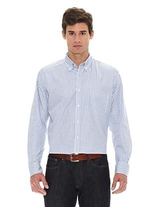 Turrau Camisa Cuadro Bicolor (Azul)