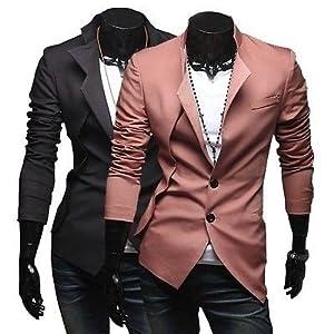 2 Button Blazer Slim Fit Coat - Multicolour