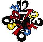 Blacksmith Numberised Clock
