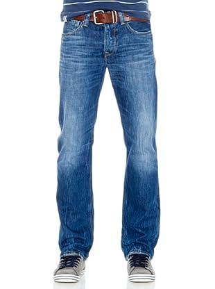 Pepe Jeans London Pantalón Vaquero Heston (Azul)