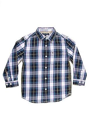 Tommy Hilfiger Camisa (azul / gris / blanco)