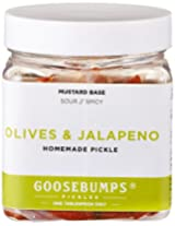Goosebumps Pickles Homemade Olives and Jalapenos Pickle, 250g