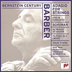 Adagio for Strings / Violin Cto / Praise of Shahn