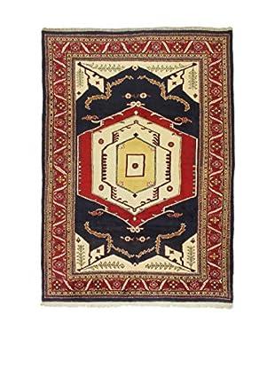L'Eden del Tappeto Teppich Bijar rot/blau/mehrfarbig 316t x t230 cm