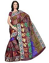 Saree Sansarr Saree (7113_Magenta)