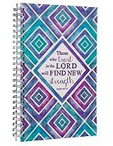 Notebook Wirebound Those Who Trust ISA 40: 31