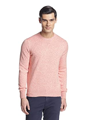 Salvatore Ferragamo Men's Crew Neck Sweater (Orange)
