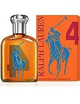 The Big Pony Collection # 4 by Ralph Lauren for Men Eau De Toilette Spray 2.5 Ounce