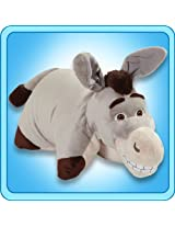 "Pillow Pets Authentic DreamWorks 18"" Donkey, Folding Plush Pillow- Large"