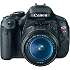 Canon EOS Rebel T3i Digital SLR Camera with EF-S 18-55mm f/3.5-5.6 IS Lens