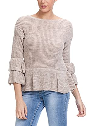 Tantra Wollpullover Will Ruffles In The Sleeves