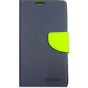 Blue Colored Mercury Goospery Flip Cover For Asus Zenfone 5 By eComkart