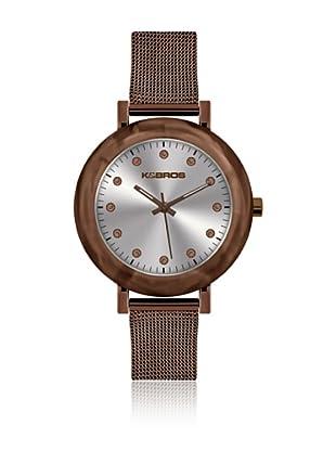 K&Bros  Reloj 9183 (Marrón)