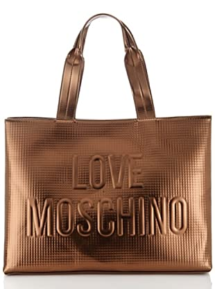 Love Moschino Shopper bronze