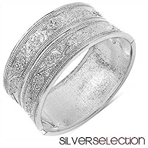 Silver Selection Metal Kada