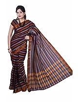 Manisha South Cotton Zari Multicolor Handloom Saree (6.2 mtrs)