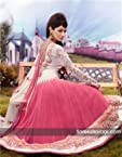 Designer Embroidered Party Wear Anarkali Dress Mat