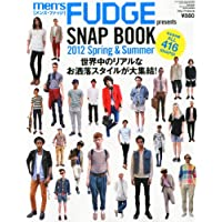 men's FUDGE SNAP BOOK 2012年Vol.2 小さい表紙画像
