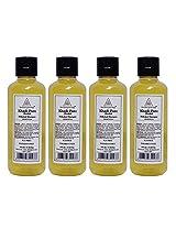Khadi Pure Herbal Shikakai Shampoo Sls-Paraben Free - 210ml (Set of 4)