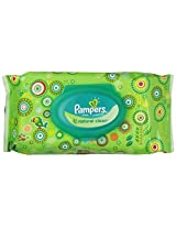 Pampers Natural Clean Wipes 1x Travel Pack (64 Sheets)