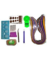 Naarilok Complete Quilling Combination Kit of 8 Tools and 10Strips