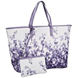 Calvin Klein Jeans Printed PVC CTK005ACK00, Damen Shopper 40x30x16 cm (B x H x T)