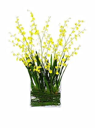 Lux-Art Silks Oncidium Waterlike (Yellow)