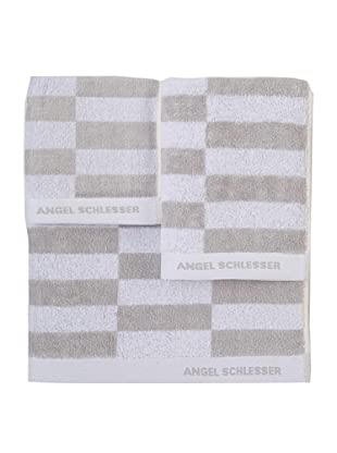 Angel Schlesser Juego de Toallas Basic (Beige)
