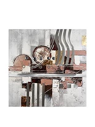 Arte Dal Mondo Leinwandbild Paolo Rossini Composizione Geometrica