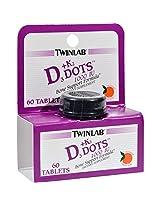 Twinlab Vitamin D3 Plus Vitamin K-2 Dots